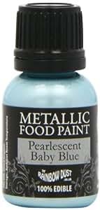 Rainbow Dust Metallic Paint Pearlescent Baby Blue