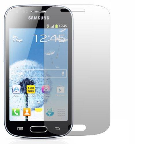 Slabo 2 x Film de protection d'écran pour Samsung Galaxy Trend GT-S7560 protection écran film Ultra Clair invisible