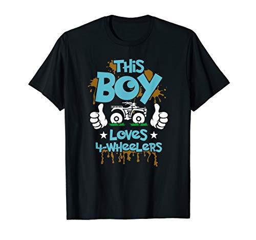 Kids ATV shirt 4 wheeler t-shirt for boys four wheeler gift T-Shirt