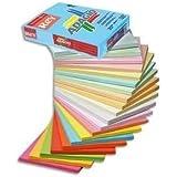Papyrus Adagio+ Ramette de 500 feuilles papier couleur pour imprimante laser/jet d'encre/copieur 80g Format A3 Orange intense