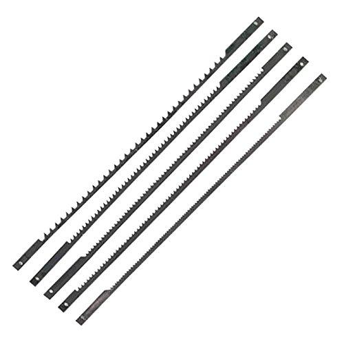 Einhell Dekupiersägeblatt Set (passend für Dekupiersägen, 127 mm lang, 25 mm breit, 1x 10 Z, 1x 15 Z, 2x 18 Z, 1x 25 Z)