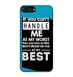Happoz Apple Iphone 7 Cases Back Cover Mobile Pouches Shell Hard Plastic Graphic Armour Premium Printed Designer Cartoon Girl 3D Funky Fancy Slim Graffiti Imported Cute Colurful Stylish Boys D349