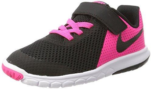 Nike Flex Experience 5 (Psv), Chaussures de Trail Fille, Multicolore (Pink Blast/Black/White 600), 31.5 EU