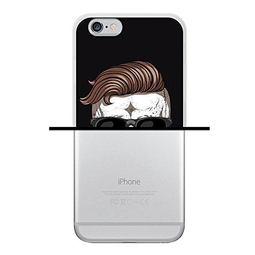 iPhone 6 6S Hülle, WoowCase Handyhülle Silikon für [ iPhone 6 6S ] Mondrian Stil Rechtecke Handytasche Handy Cover Case Schutzhülle Flexible TPU - Transparent Housse Gel iPhone 6 6S Transparent D0327