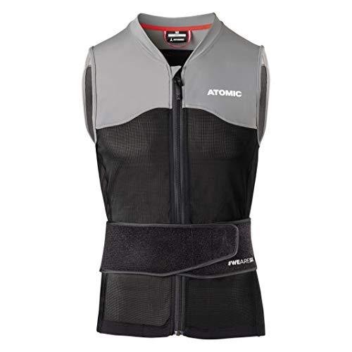 ATOMIC Herren Live Shield Vest M Ski-Protektor-Weste, Black/Grey, L