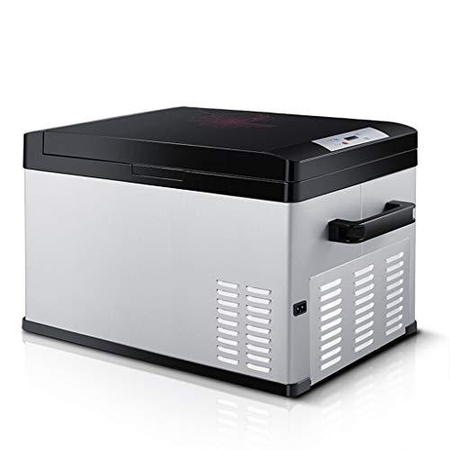 Refrigerador del coche SKC Litro Pantalla Digital portátil Compresor Frigorífico Congelador, 12...
