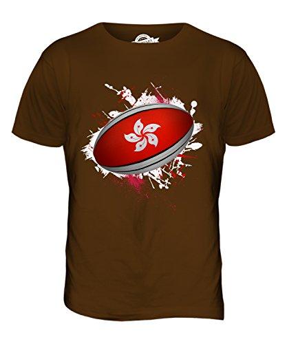 CandyMix Hongkong Rugby Ball Herren T Shirt Braun