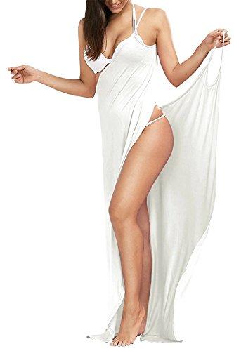 Outgoings Frauen Bikini vertuschen Bademode Pareos Strandkleider Strandkleid Wrap Swimwear Badeanzug - Bademode Wrap