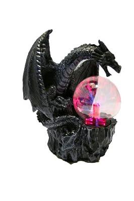 Plasmalampe Drachenlampe Blitzlampe Tischlampe Zimmerlampe Mystik Gothic Fantasy Dekoration von colourliving auf Lampenhans.de
