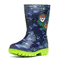 Paw Patrol Navy & Green Wellington