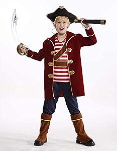 glooke selected-374192traje Pirata L para niño, Multicolor, 12-14(s) Alemán, 374192