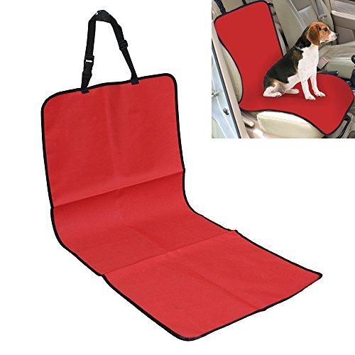yunt Pet Dog Puppy Front Sitz wasserschutzhüllen Schutz matte mit verstellbare Schnalle Schließung für die meisten Autos, Lkws SUV Bucket Sitze, etc.. (Schließung Schnalle Verstellbare)