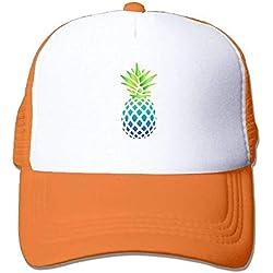 Fashion Home - Sombreros de béisbol para Mujer, Color Verde, Azul y piña, Multi 1