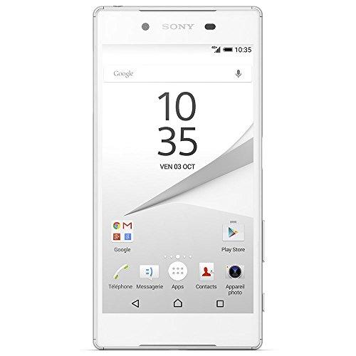 Sony Xperia Z5 Pack 007 Smartphone débloqué 4G (Ecran: 5.2 pouces - 32 Go - Simple Nano-SIM - Android 5.1 Lollipop) Blanc