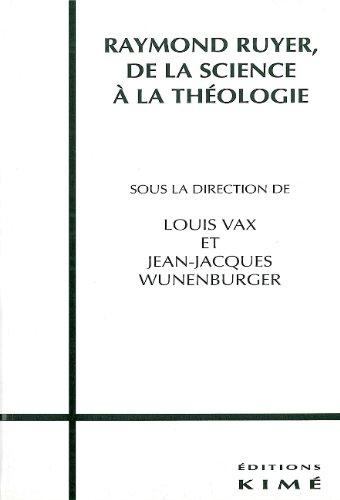 Raymond Ruyer par J.-J. Wunenberger