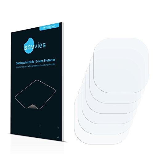 Samsung Galaxy S7 Edge (Kamera Rückseite) Schutzfolie - [6er Set] Savvies kristallklare Displayschutzfolie Folie Displayfolie (Samsung Kamera-tasche)