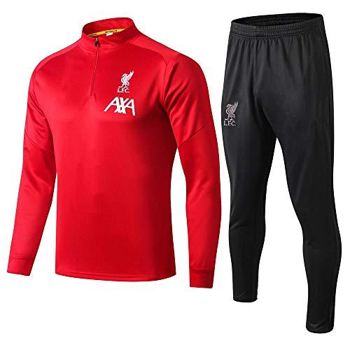 XunZhiYuan Liverpool Fußball-Trainingsanzug mit Langen Ärmeln Anzug für Sportbekleidung für Erwachsene Jersey @ 2_L