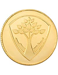 Bangalore Refinery 24k (999) Purity 10 Gram Yellow Gold Gifting/Investment Gold Coin