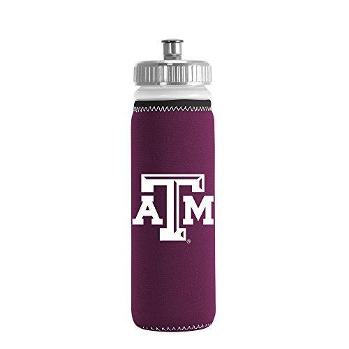 ncaa-texas-am-aggies-van-metro-squeezable-ldpe-water-bottle-maroon-22-ounce-by-kolder