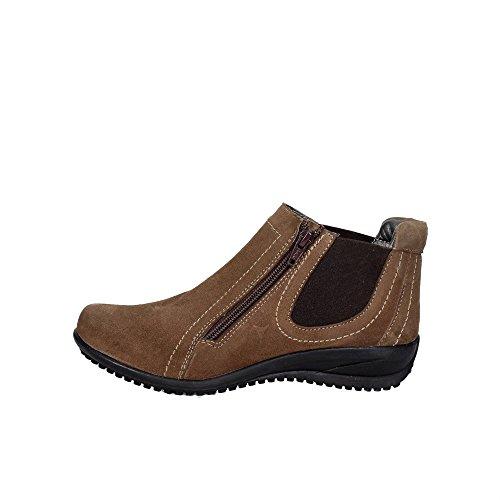 Cinzia Soft CAMP.12 Chaussures À Lacets Femme Marron Taupe
