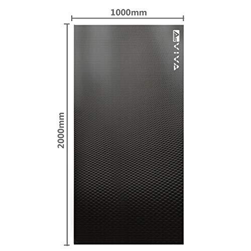 AsVIVA Fitnessgeräte Bodenschutzmatte UM1 200x100cm Unterlegmatte Matte