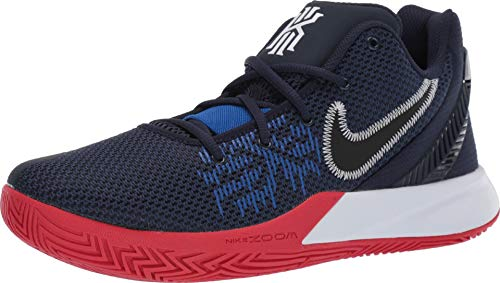 Nike Herren Kyrie Flytrap Ii Basketballschuhe, Mehrfarbig (Obsidian/Black/University Red/Game Royal 000), 45.5 EU