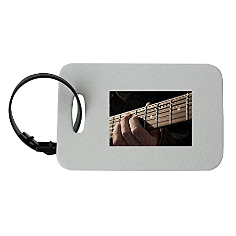 Guitar, Music, Rock, Musical Instrument luggage tag