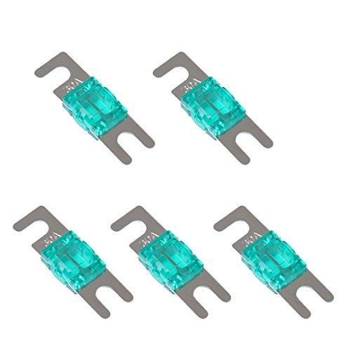 Non-brand 5 Stück Mini ANL Schraube Gabel Sicherung Kit Car Audio Circuit Breaker - 30A (30 Amp Car-audio Sicherung)