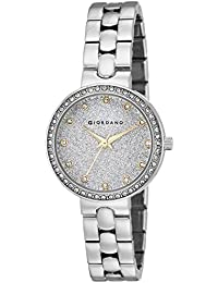 Giordano Analog Silver Dial Women's Watch-A2068-11