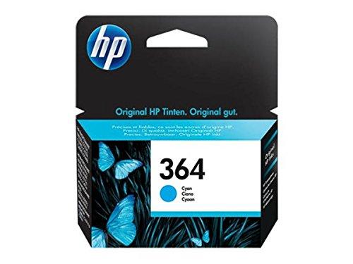 HP original - HP - Hewlett Packard OfficeJet 7515 (364 / CB 318 EE) - Tintenpatrone cyan - 300 Seiten - 3ml (Hp Druckkopf 7515)