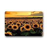 Dalliy Sonnenuntergang Sonnenblume Fu?matten Doormat Outdoor Indoor 23.6