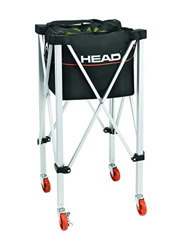 HEAD Tennis-Trolley - Training & Praxis Tennisball Reisewagen - für 120 Bälle -