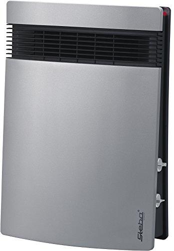 Steba Schnellheizer Litho KS 1 | ultraflaches Design | hohe Heiz- und Luftleistung | sehr leise | 4 Stufen-Schalter: Aus / Kalkluft / Warmluft (1000 W) / Heißluft (1800 W) | für ca. 30m²