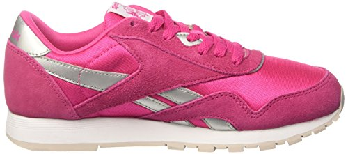 Reebok Bd1287, Sneakers trail-running fille Rose (Rose Rage/white/silver/steel)