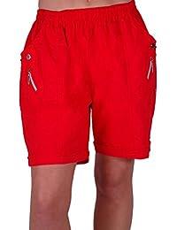 Amazon.co.uk: Red - Shorts / Women: Clothing