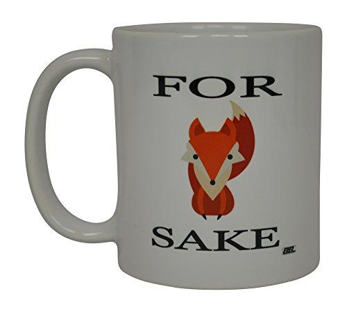 Best Funny Kaffee Tasse für Fox Sake Sarkastisch Neuheit Tasse Witz Gag Geschenk Idee für Herren Frauen Büro Arbeit Erwachsene Humor Mitarbeiter Boss Kollegen (Gag-geschenke Valentinstag)