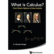 What Is Calculus?: From Simple Algebra To Deep Analysis