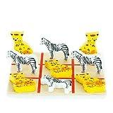 Sweet Safari Tic Tac Toe by Bead Bazaar�...