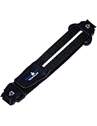 Timex 14mm IRONMAN Triathlon 30-Lap Black Fast Wrap Velcro Strap Watch Strap Fits T5G271, T5E961, T5K410