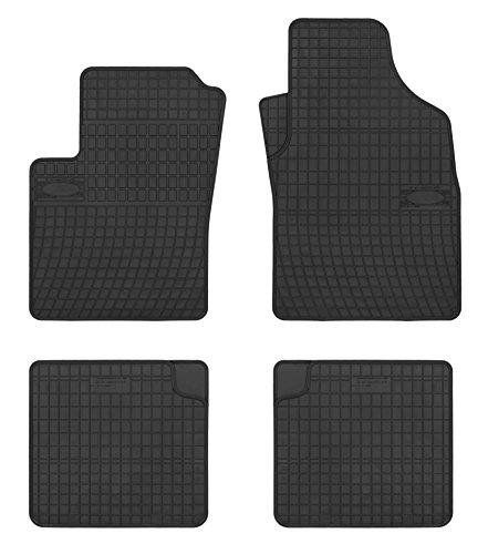 TN Profimatten Gummifussmatten Auto-Fußmatten Passform GFI0000307A - Fußmatte Autoteppich, Fiat 500