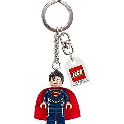 LEGO Super Heroes: Superman (Azul Traje) Llavero