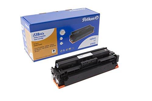 Pelikan Toner 4284266 ersetzt HP CF410X (für Drucker HP LaserJet Pro M452DN, M452DW, M452NW, MFP M477FDW, MFP M477FDN, MFP M477FNW, MFP M377) schwarz