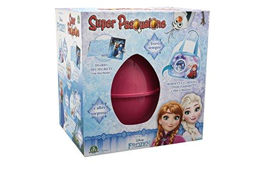 Giochi preziosi - super pasqualone uovo con sorprese 2017, frozen