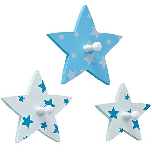 L&y appendiabiti attaccapanni appendiabiti da parete per bambini, appendiabiti decorativo con gancio per camera da letto (colore : sky blue)