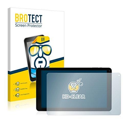 2X BROTECT HD Clear Bildschirmschutz Schutzfolie für Blaupunkt Atlantis 1010A (kristallklar, extrem Kratzfest, schmutzabweisend)
