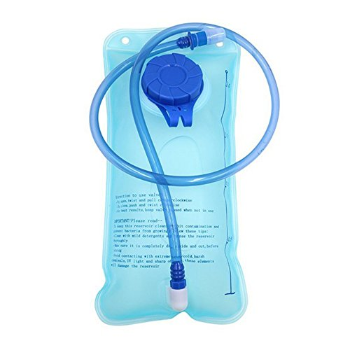 Hydration Bladder 2L Backpacks Water Bag Water Bladder for Outdoor Hiking Cycling Camping Climbing(2L Hydration Bladder)