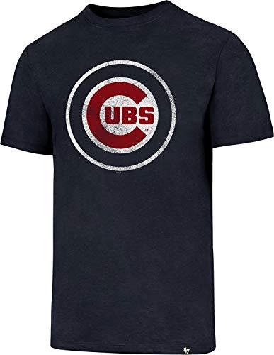 47 Brand Chicago Cubs Knockaround Club MLB T-Shirt Navy, M
