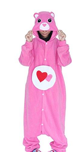 ristmas Kostüm Damen Winter Jumpsuit Tier Fasching Onesie Herren Karneval Cosplay Nachtwäsche (3 Wünsche Paare Halloween-kostüme)
