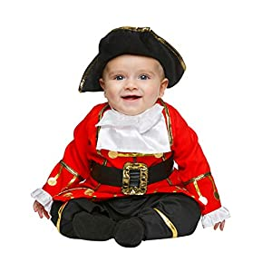 My Other Me Me-203826 Disfraz de pequeño corsario para niño, 7-12 meses (Viving Costumes 203826)