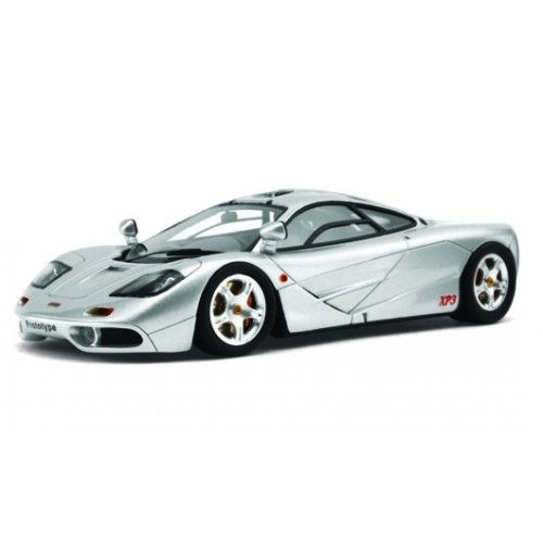 McLaren 1:43 F1 XP-3 1993 Experimental Prototype Diecast Model Car (Silver)